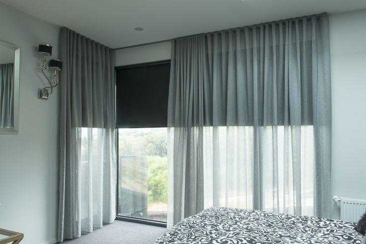 捲窗簾與布料配搭能撞出火花
