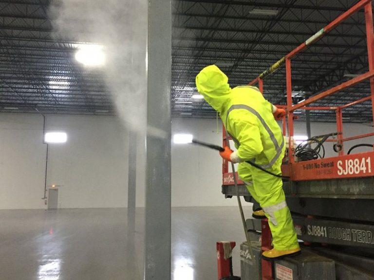 生產車間室內薰蒸消毒殺菌方法