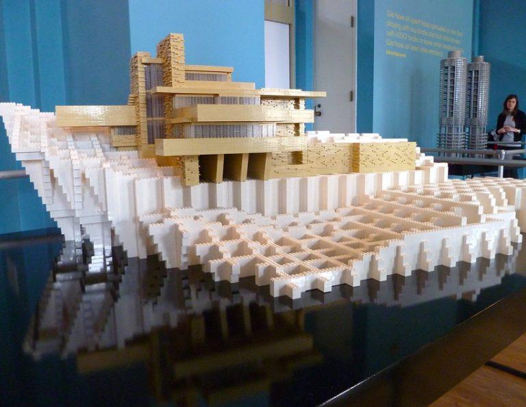 用lego藝術創意構建日常生活